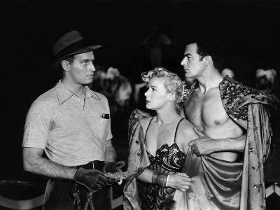The Greatest Show On Earth, Charlton Heston, Betty Hutton, Cornel Wilde, 1952--Photo