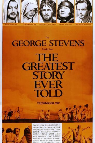 The Greatest Story Every Told--Art Print