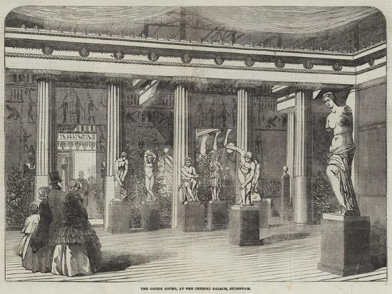 The Greek Court, at the Crystal Palace, Sydenham--Giclee Print