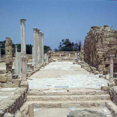 The Greek Gymnasium in Salamis-CM Dixon-Photographic Print
