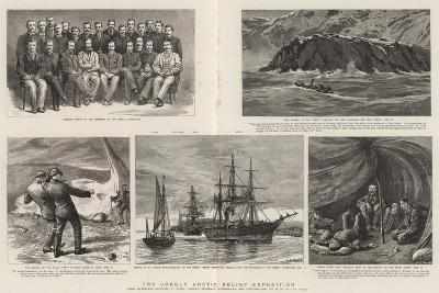 The Greely Arctic Relief Expedition-Charles William Wyllie-Giclee Print