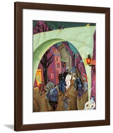 The Green Bridge II-Lyonel Feininger-Framed Art Print
