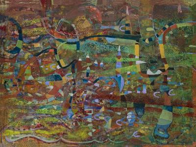 The Green Divide-Alise Loebelsohn-Art Print