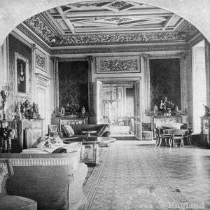 The Green Drawing Room, Windsor Castle, Windsor, Berkshire, Late 19th Century