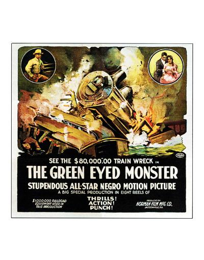 The Green Eyed Monster - 1919--Giclee Print