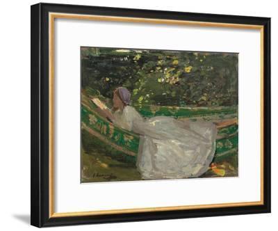 The Green Hammock. Ca. 1905--Framed Giclee Print