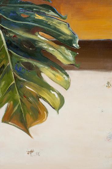 The Green Leaf II-Patricia Pinto-Art Print