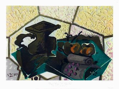 The Green Tablecloth-Georges Braque-Collectable Print