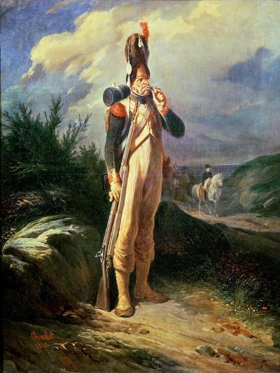 The Grenadier Guard, 1842-Nicolas Toussaint Charlet-Giclee Print