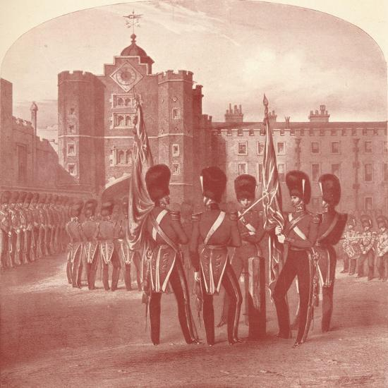 'The Grenadier Guards at St. James's Palace', 1909-Unknown-Giclee Print