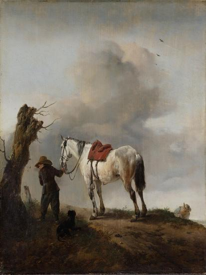 The Grey Horse, C.1646-Philips Wouwermans-Giclee Print