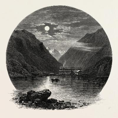 The Grimsel Hospice, Grimsel Hospiz, Switzerland, the Passes of the Alps, 19th Century--Giclee Print