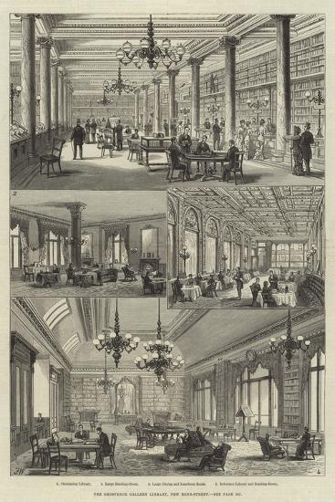 The Grosvenor Gallery Library, New Bond-Street-Frank Watkins-Giclee Print