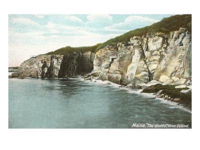 The Grotto, Orr's Island, Maine--Art Print