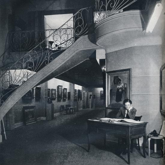 'The ground floor gallery of the American-British Art Center', c1941-Unknown-Photographic Print