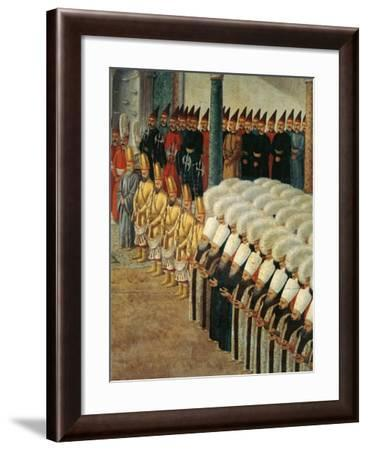 The Guard of Janissaries--Framed Giclee Print