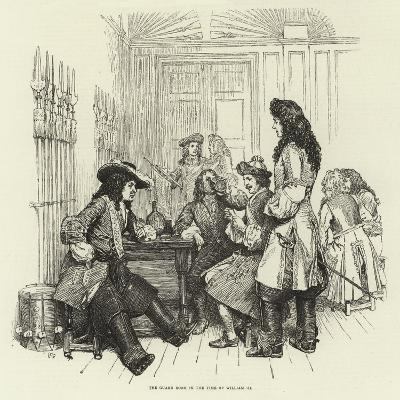 The Guard Room in the Time of William III--Giclee Print
