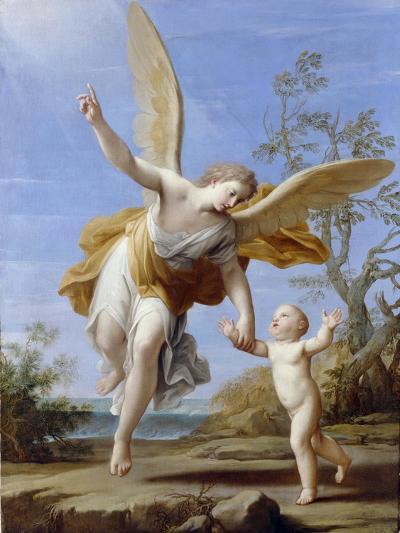 The Guardian Angel, 1716-Marco Antonio Franceschini-Giclee Print