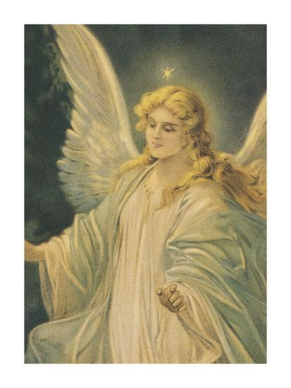 The Guardian Angel - Detail-The Vintage Collection-Art Print