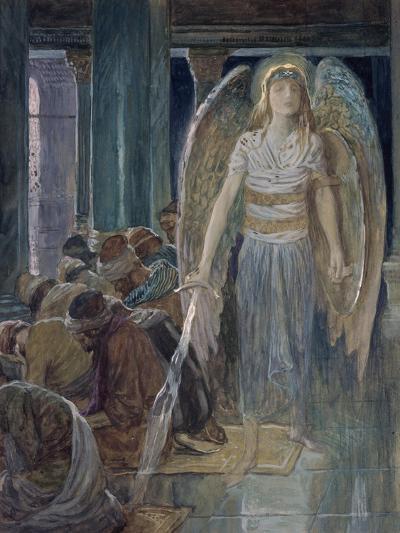 The Guardian Angel-James Tissot-Giclee Print