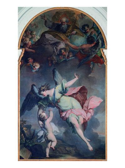 The Guardian Angel-Felice Giani-Giclee Print