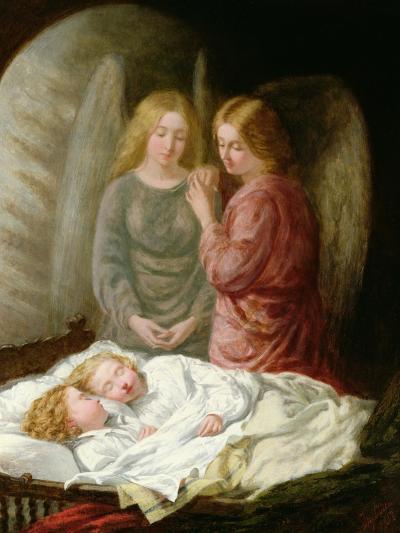 The Guardian Angels-Joshua Hargrave Sams Mann-Giclee Print