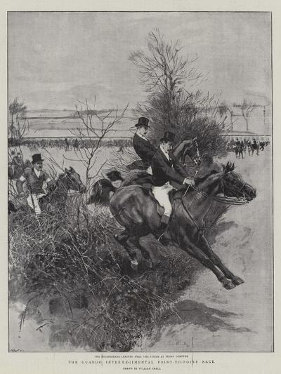 The Guards' Inter-Regimental Point-To-Point Race-William Small-Giclee Print