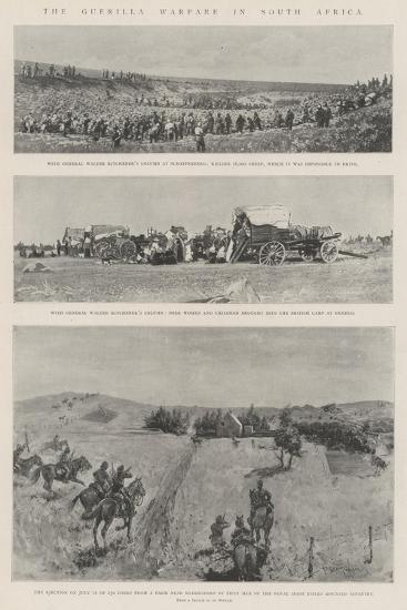 The Guerilla Warfare in South Africa-Henry Charles Seppings Wright-Giclee Print