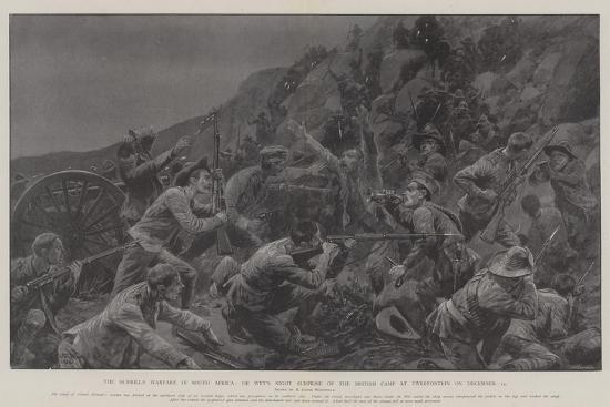The Guerilla Warfare in South Africa-Richard Caton Woodville II-Giclee Print
