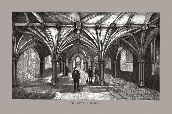 The Guild-Hall Crypt, 1886-Unknown-Giclee Print