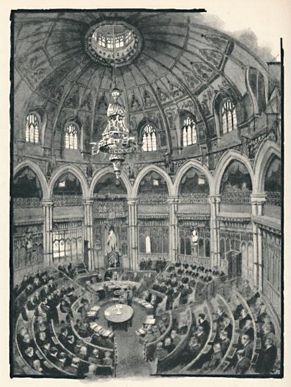 'The Guildhall - Council Chamber', 1891-William Luker-Giclee Print