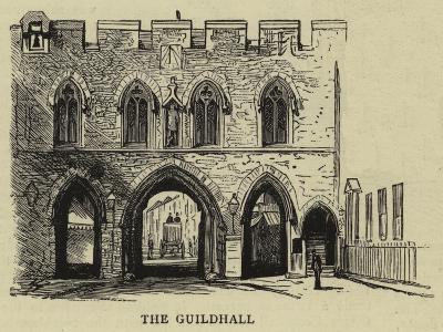 The Guildhall--Giclee Print