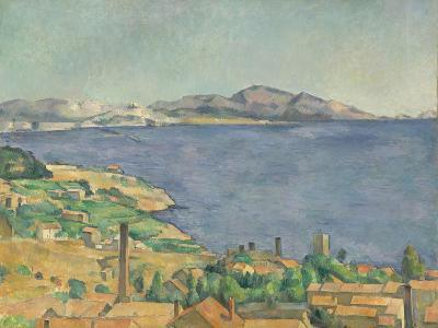 The Gulf of Marseilles Seen from L'Estaque, c.1885-Paul Cezanne-Giclee Print