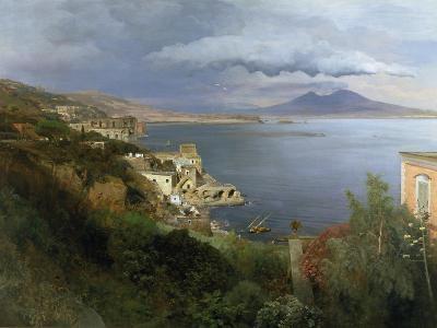 The Gulf of Naples, 1883-Oswald Achenbach-Giclee Print