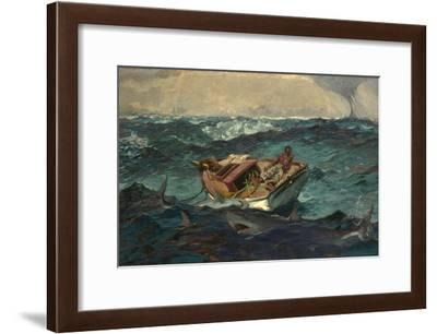 The Gulf Stream, 1899-Winslow Homer-Framed Giclee Print
