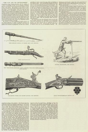 The Gun and its Development--Giclee Print
