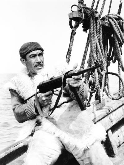 The Guns of Navarone, Anthony Quinn, 1961--Photo