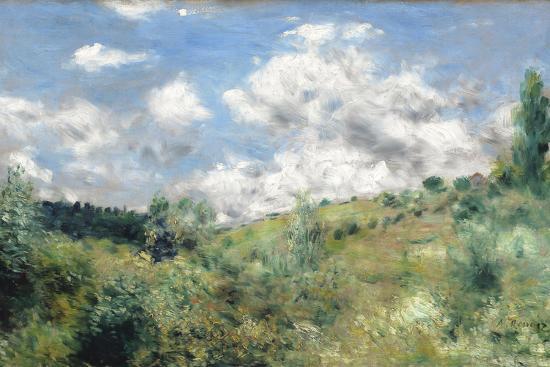 The Gust of Wind, C.1872-Pierre-Auguste Renoir-Premium Giclee Print