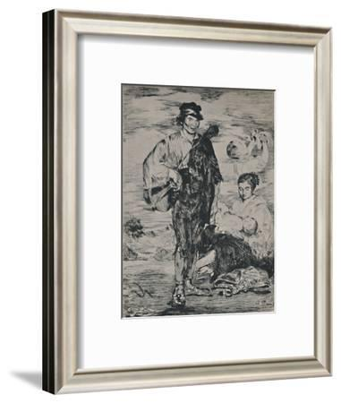 'The Gypsies', 1862, (1946)-Edouard Manet-Framed Giclee Print
