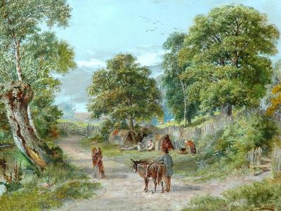 The Gypsies' Encampment-John Gelder-Giclee Print