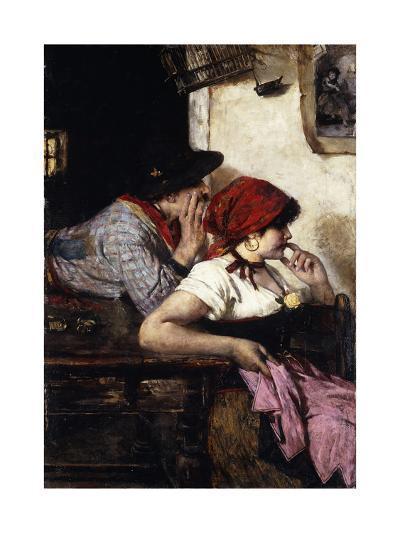The Gypsy Couple-Ernest-Joseph Laurent-Giclee Print