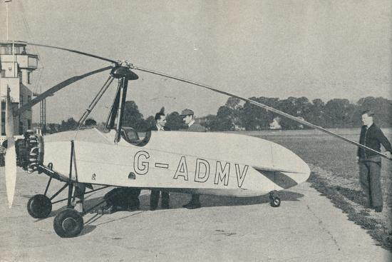 The Hafner Gyroplane, c1935 (c1937)-Unknown-Photographic Print