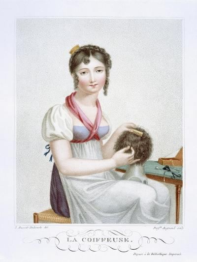 The Hairdresser, C.1816-Madame G. Busset-Dubruste-Giclee Print