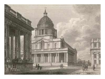The Hall of Greenwich Navy Hospital--Giclee Print