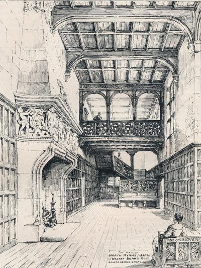 The Hall of North Mymms, Herts, 1898--Giclee Print