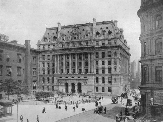 'The Hall of Records, New York', 1915-Unknown-Photographic Print