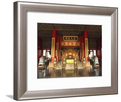 The Hall of Supreme Harmony in the Beijings Forbidden City-Richard Nowitz-Framed Photographic Print