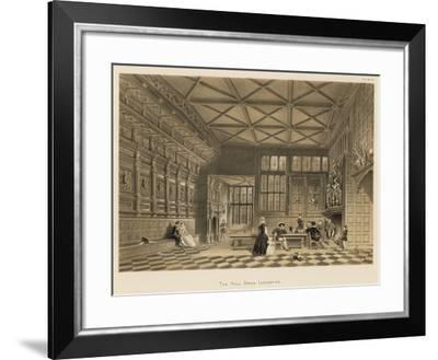 The Hall, Speke, Lancashire-Joseph Nash-Framed Giclee Print