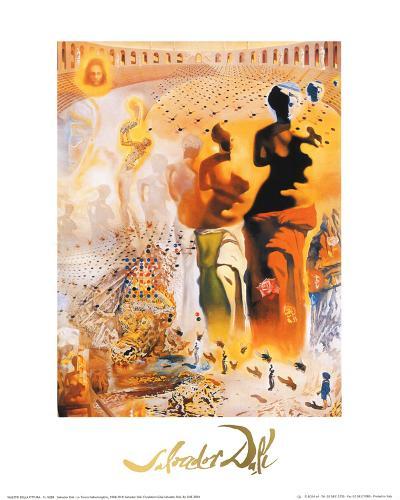 The Hallucinogenic Toreador, c.1970-Salvador Dal?-Art Print