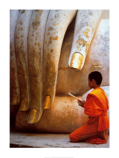 The Hand of Buddha-Hugh Sitton-Art Print